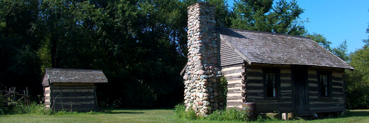 Buckley log cabin