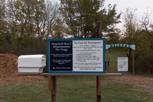 Dogwood Run Sign
