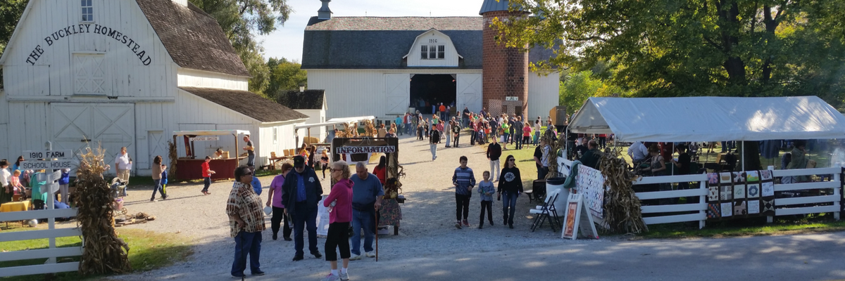 Barn yard during Fall Fest
